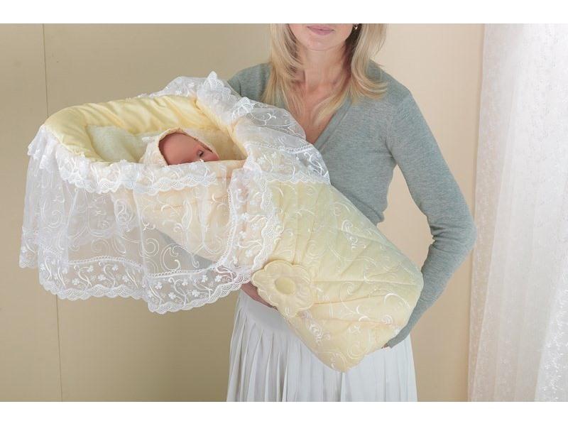 Конверт для новорожденного на выписку своими руками