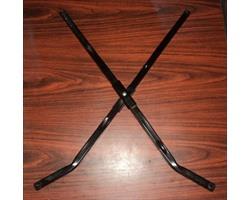 Крестовина рамы нижняя для коляски-трости Жетем, длина перекладин 61 см.
