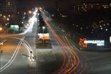 Владикавказ ночью, район БАМ
