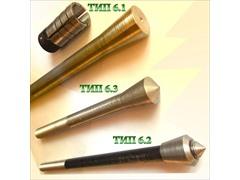 Болты фундаментные с коническим концом тип 6.1 ГОСТ 24379.1-80. Шпилька 8.