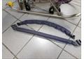 Бампер серый для санок колясок
