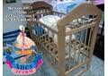 """Кроватка """"Кошка"""" с игрушками (г.Ижевск)  в магазине АИСТ г.Пермь"""