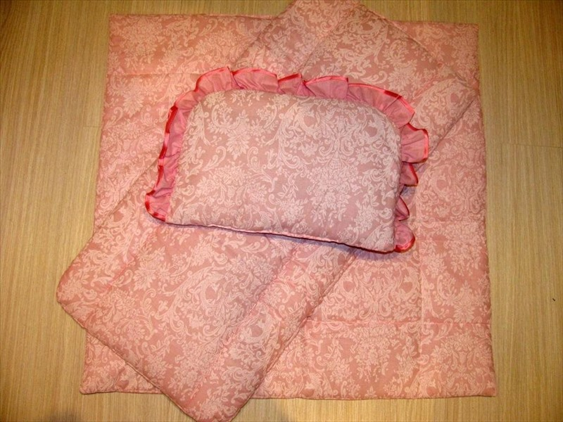 Люстра своими руками для дома из ткани